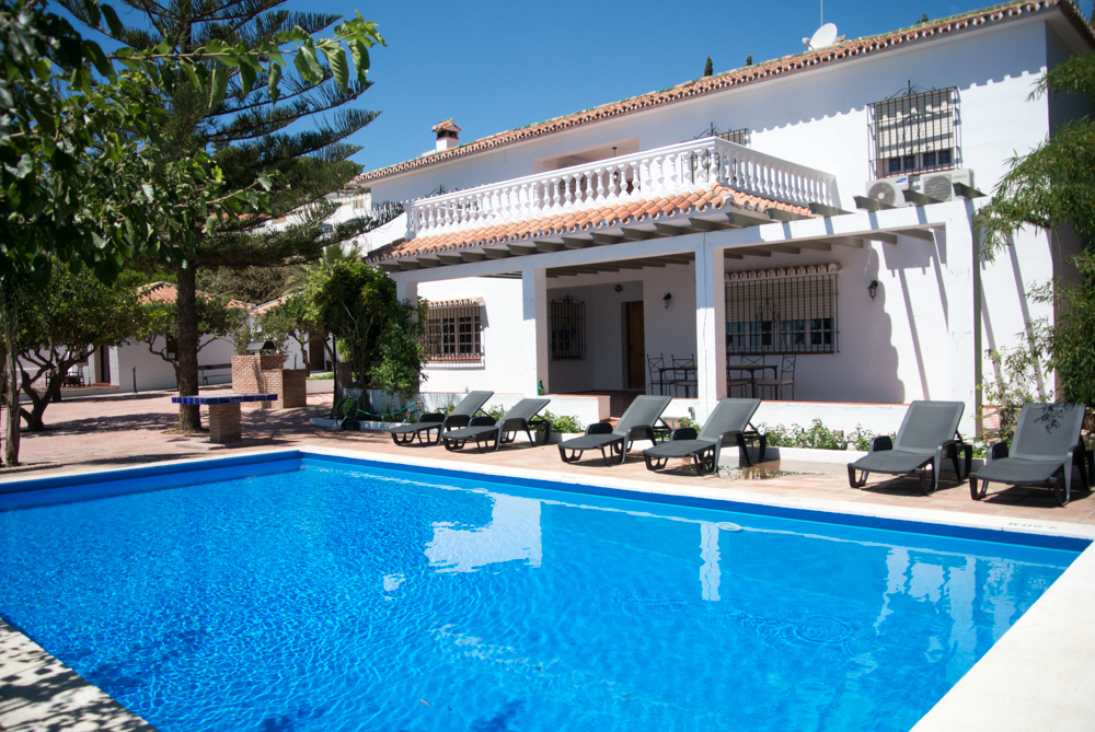 4 bedroom rental villa in benalmadena